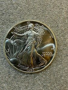 1990-American-Silver-Eagle-Coin-Superb-Condition-90B
