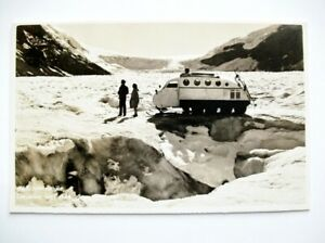 Banff-Canada-Byron-Harmon-Columbia-Icefields-Sno-mobile-Glacier-Photo-Postcard