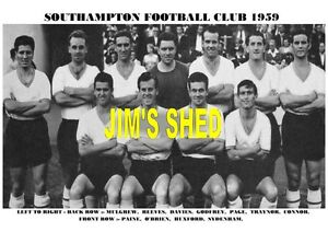 TEAM PRINT 1959 SOUTHAMPTON F.C