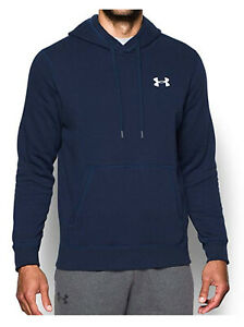 NEW-Under-Armour-Mens-Rival-Fleece-Fitted-Hoodie-100-Authentic