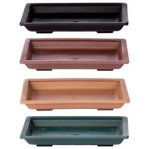 BONSAI-Dessous-De-Carre-E-env-11-x-8-cm-differentes-couleurs-plastique