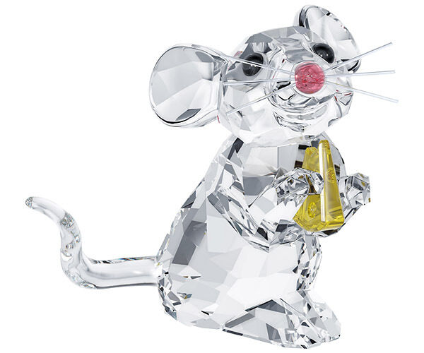 "SWAROVSKI SILVER CRYSTAL 2013 MOUSE, ANIMAL WORLD THEME GROUP"" 5004691 MIB"