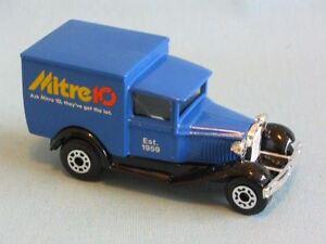 Matchbox-Mb-38-Ford-Model-A-Van-Mitre-10-australiano-Juguete-Modelo-camion-de-reparto
