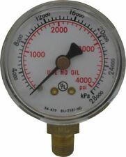50mm X 4000 Psig Regulator Gauge Victor 0058 2215 Part No 14240408