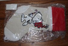 NWT Pottery Barn PB Teen Peanuts Christmas Stocking kids snoopy w/ candycane