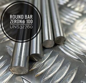 "UNS 32760 Super Duplex Stainless Steel Round Bar 1/4"" - 1.7/8 Dia"
