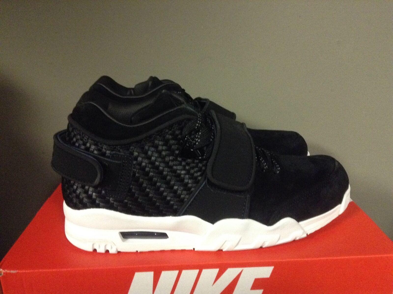 Nike air allenatore victor cruz bianco uomini 777535-004 nero / bianco cruz * nuove scarpe. d0c6bf