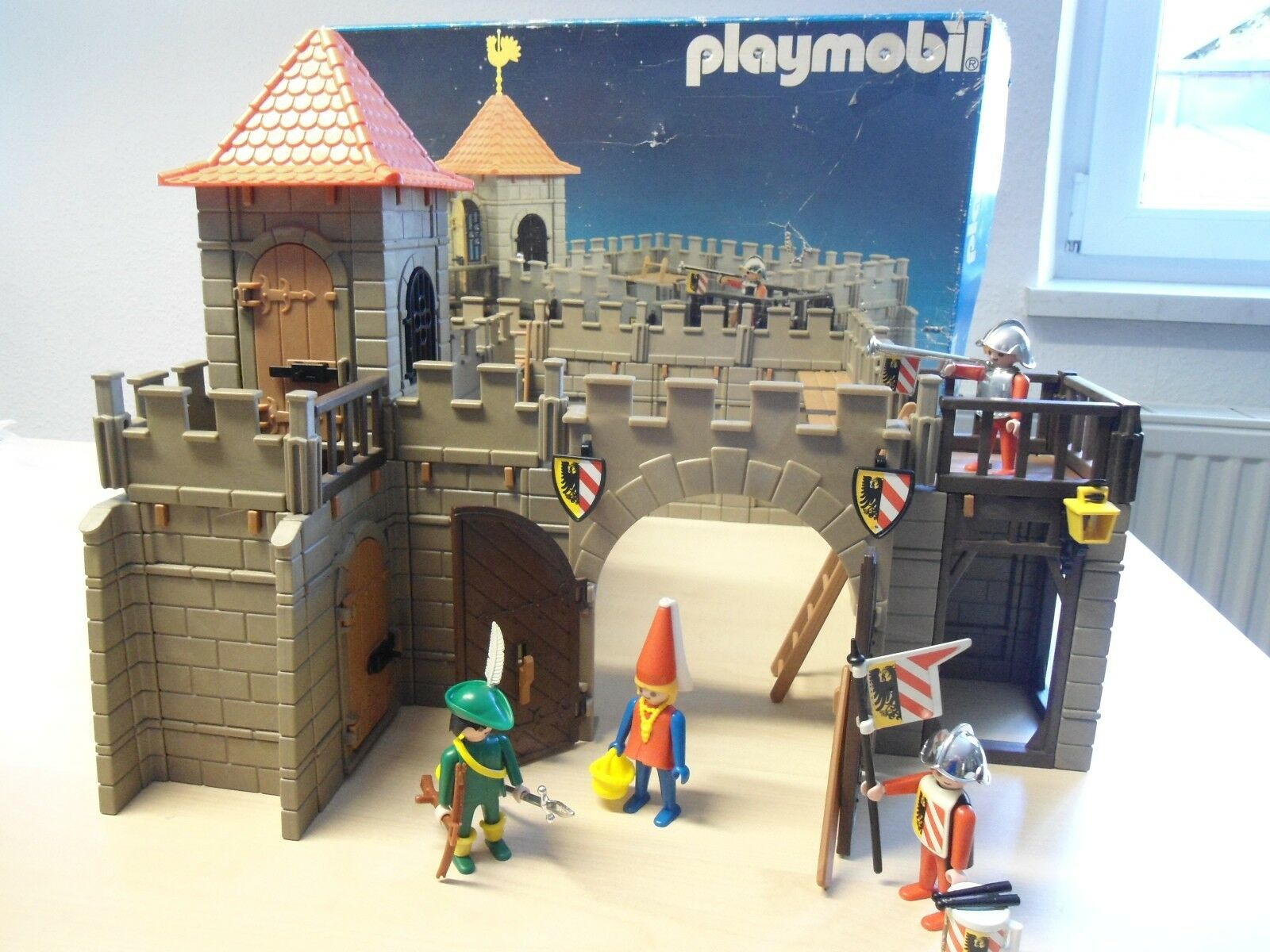Playmobil Set 3446  Ritterburg   gebraucht