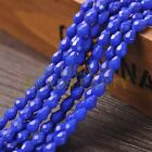 New Arrival 30pcs 8X6mm Faceted Teardrop Loose Spacer Glass Beads Royal Blue