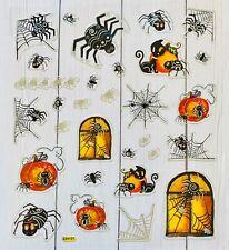 Mrs Grossman/'s Spooky FUN Spiders Halloween Scrapbook Stickers 4 Strips!