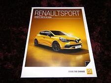 Renault SPORT FOLLETO-Jan 2015-Clio 200, GT-Line 120, Megane 265