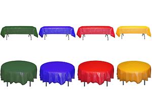 Couleurs primaires en plastique Table couvre-Jetables Nappe School-Livraison gratuite!
