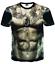 New-Fashion-Cool-Women-Men-Funny-Muscle-Print-3D-T-Shirt-Casual-Short-Sleeve-Tee thumbnail 33