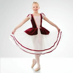 coppelia velour corset bodice ballet dance dress