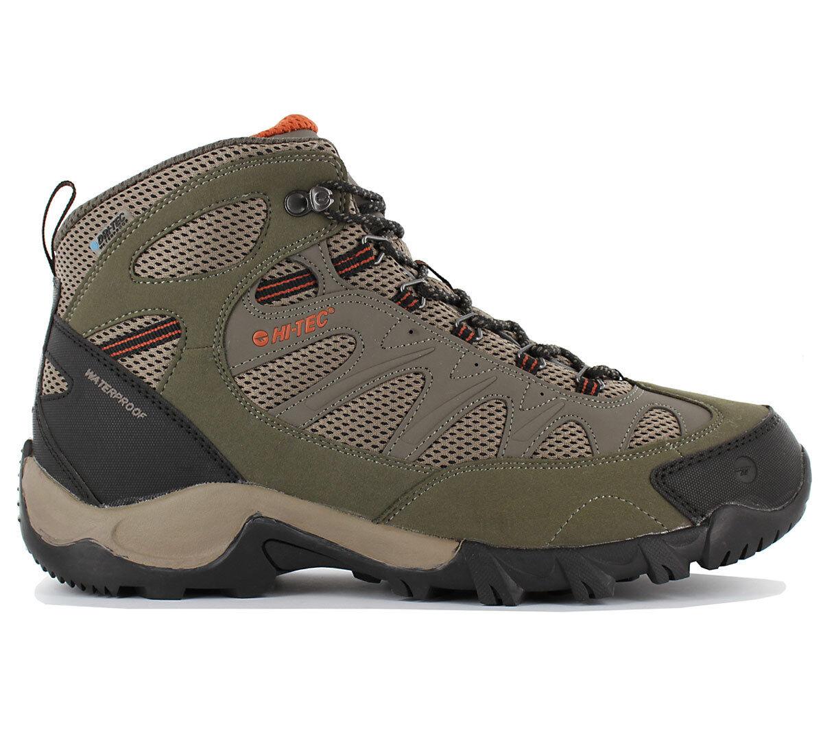 Hi-Tec Trailstone WP Dri-Tec Waterproof Herren Wanderschuhe Outdoor Schuhe NEU