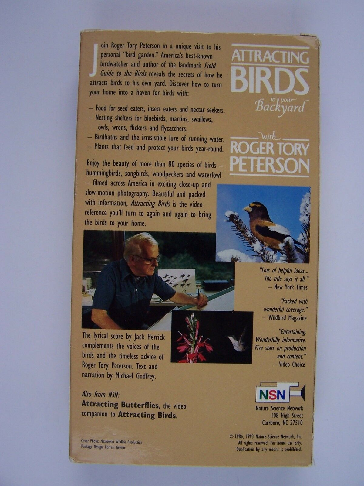 Attracting Birds to Your Backyard with Roger T Peterson