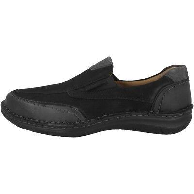 Josef Seibel Anvers 67 Schuhe Herren Halbschuhe Slipper black 43621-994-100