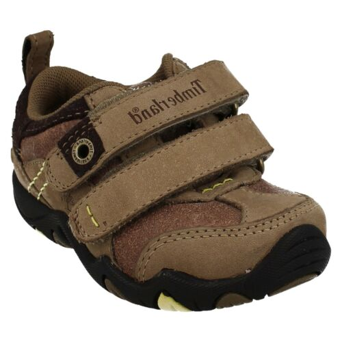 Strap Ox Pwrplay Timberland Leather bambino Ek Tan Riptape Casual da Boys Scarpe qv4t7wvx