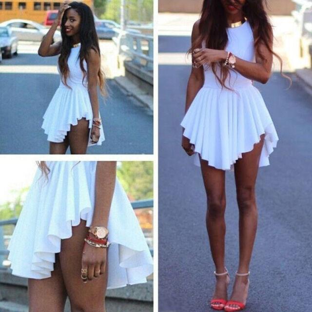Top Women's Sexy Cocktail Dress Clubwear Evening Mini Dress