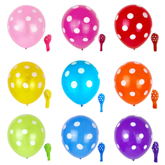 USA Seller Birthday Wedding Party Decor Latex Balloons U pick Color Heart shapes