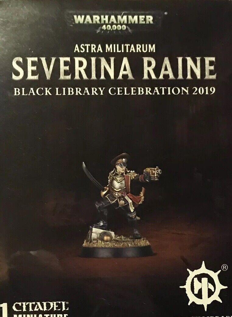 Severina Raine Astra Militarum Female Commisar  - Brand new in Box -