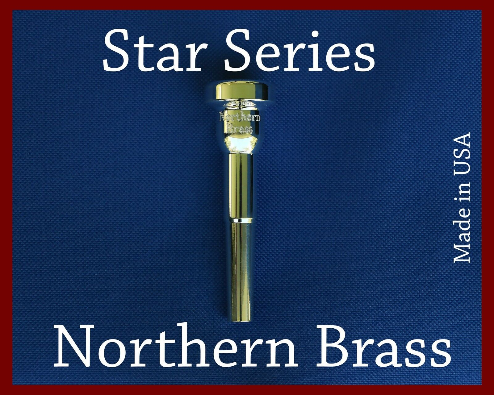 GR Trumpet Mouthpiece 3-63 Northern Brass Mouthpieces by GR Super Screamer