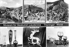 AK, Lauscha, Museum für Glaskunst, sechs Abb., 1978