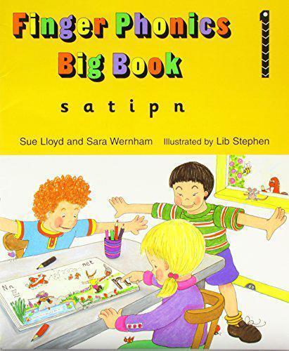 1 of 1 - Finger Phonics Big Book 1 (Jolly Phonics: finger phonics) by Lloyd, Sue | Paperb