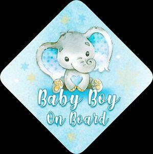 bleu Personnalisé enfant//bébé à bord voiture signe ~ mummys princes à bord ~ d