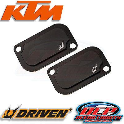 NEW GENUINE KTM 2009 - 2015 RC8 RC8R 1190 DRIVEN SMOG BLOCK OFF PLATES