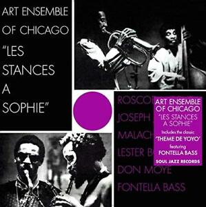 ART-Ensemble-of-Chicago-Les-Stances-a-Sophie-Remastered-CD-NUOVO