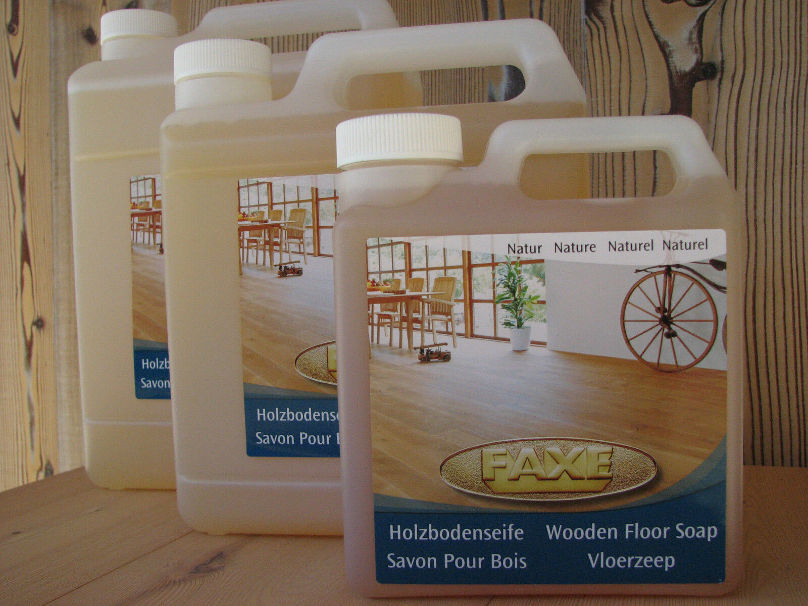 ( L) Faxe Holzbodenseife natur, 5 Liter