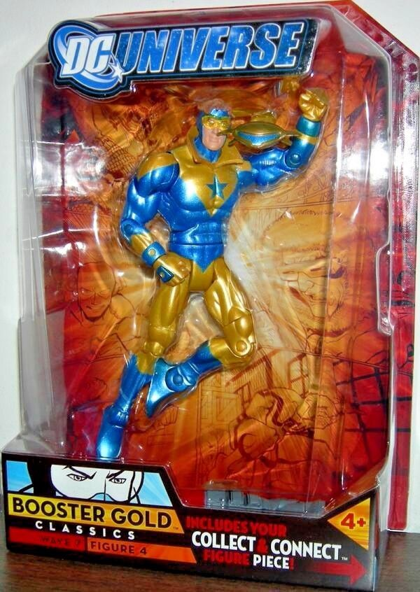 BOOSTER Gold ( 6 ) HARD TO FIND ( 2008 ) DC UNIVERSE ( WAVE 7 ) ACTION FIGURE  4