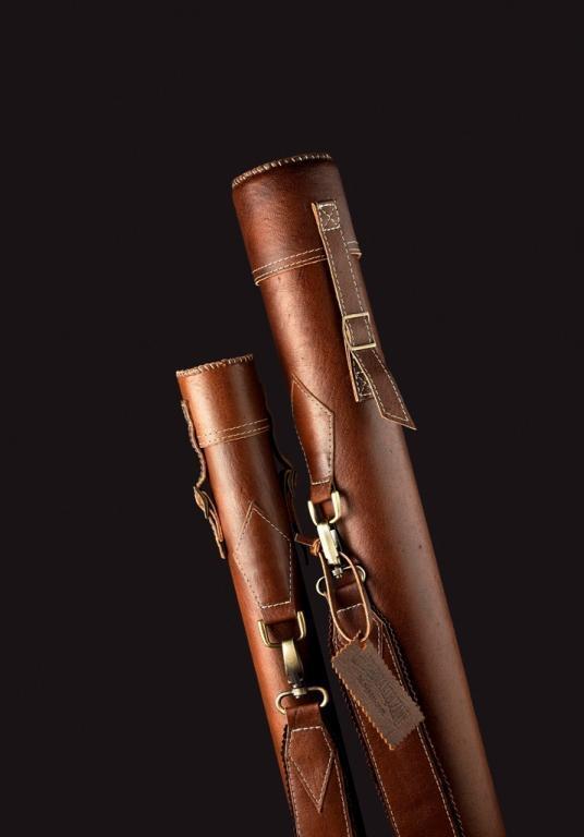 Tubo de cuero varilla única para caña con Mosca-Diámetro de 1.96 pulgadas (5cm) - 5 tipos
