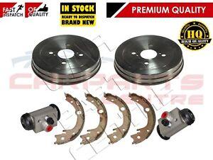 For-Toyota-Yaris-rear-brake-drums-Shoe-Shoes-Wheel-cylinders-JAP-japenese-built