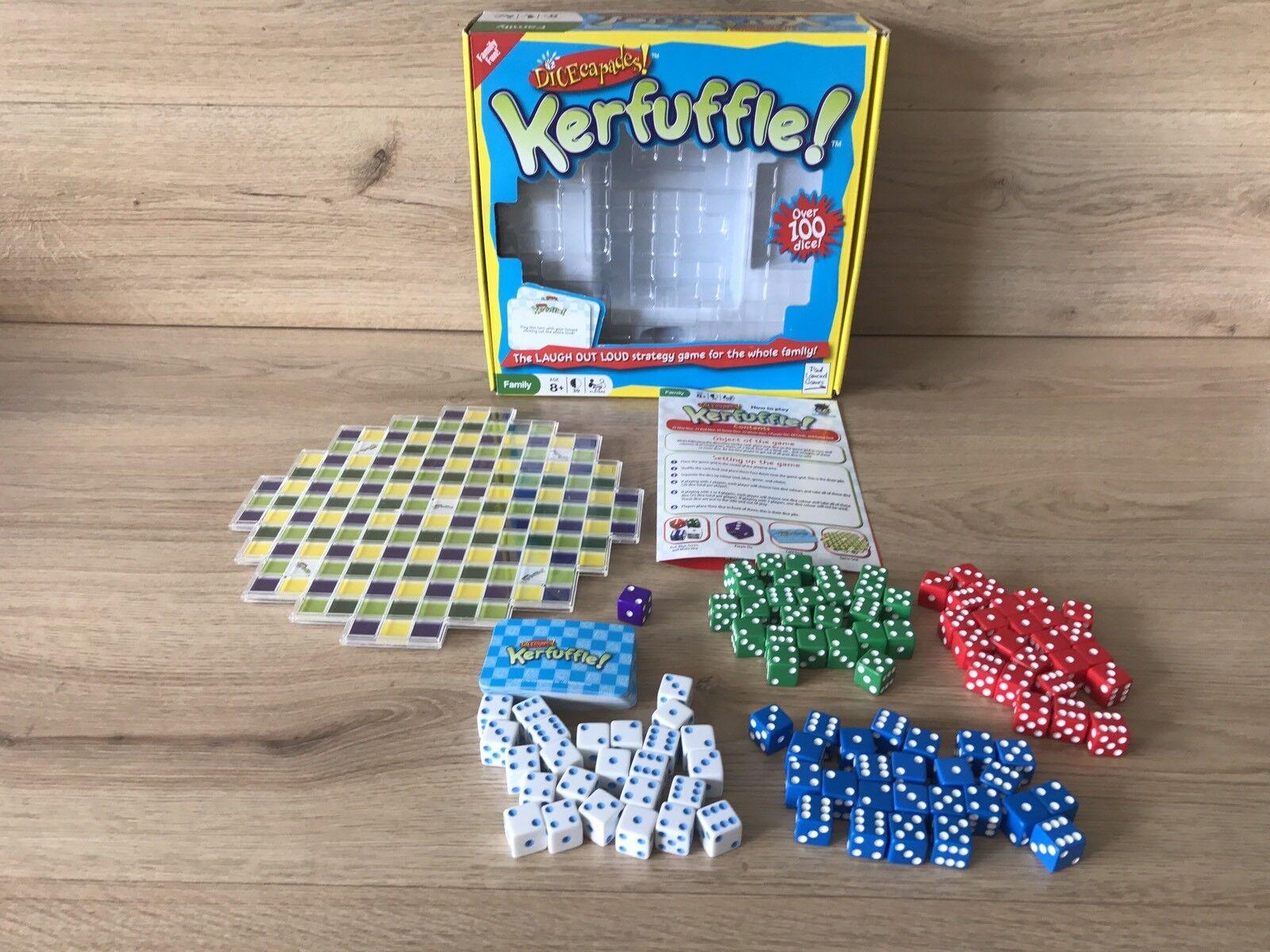 Paul Lamond Games - Dicecapades - Kerfuffle  Game (2012) Complete