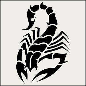 d82b2f769 14cm Scorpion decal vinyl sticker tribal art tatoo car window tuning ...