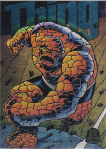 MARVEL UNIVERSE SERIES 5 1994 COLOUR POWERBLAST CARD 9