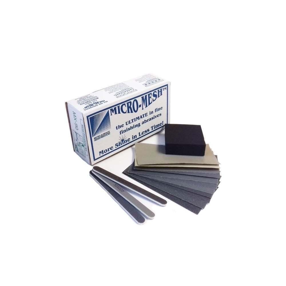 Micro-Mesh m x -90 Metal Finishing Kit