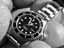 STEINHART OCEAN 1 BLACK Diver Watch T0204 Men Swiss Sapphire Date Luxury New 42