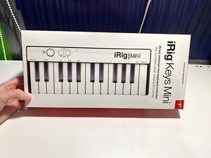 iRig Keys Mini - 25 Key Universal Mini Keyboard Controller - IOS/Android/Mac/PC