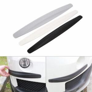 2-4Pcs-Rubber-Carbon-Fiber-Car-Bumper-Protector-Strip-Corner-Guard-Front-Rear