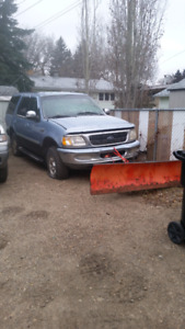 Ford expedition 4x4 plow unit