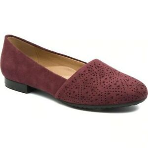 Bare-Traps-Womens-Evey-Round-Toe-Espadrille-Flats-Wine-Size-8-8-5
