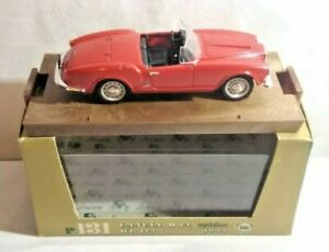 BRUMM 1:43 SCALE 1955 LANCIA B24 SPIDER HP115 - RED - R131 - BOXED