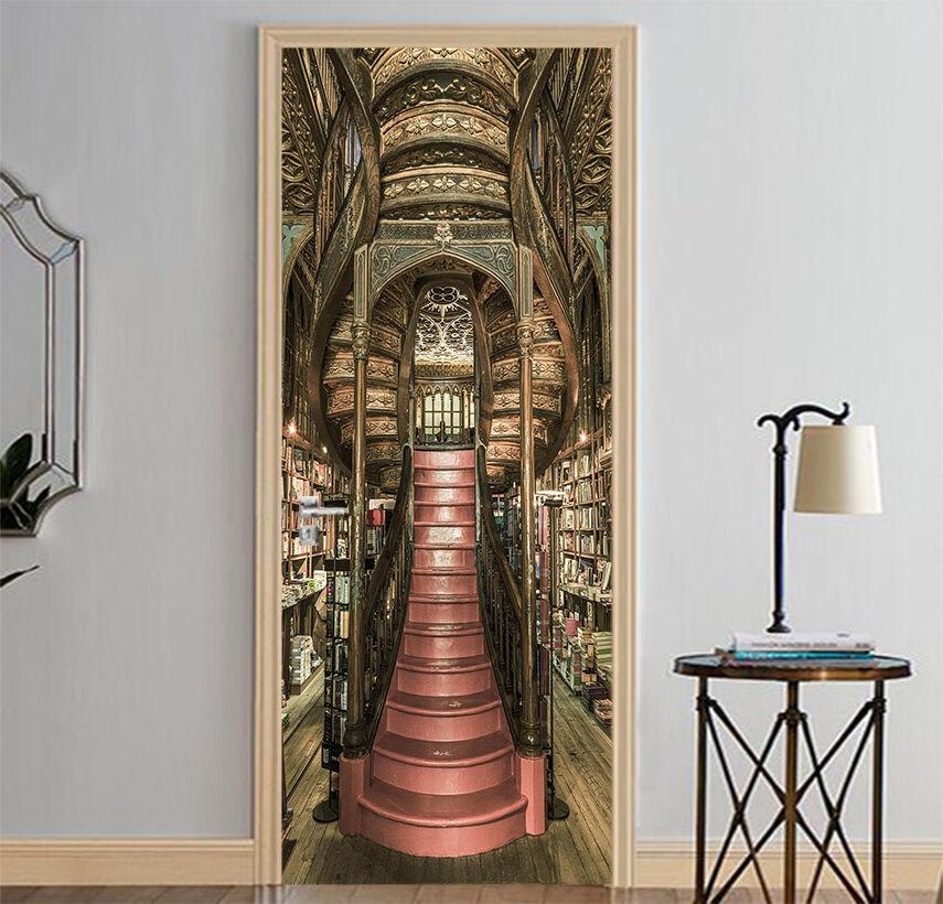 3D Gebäude 729 Tür Wandmalerei Wandaufkleber Aufkleber AJ WALLPAPER DE Kyra