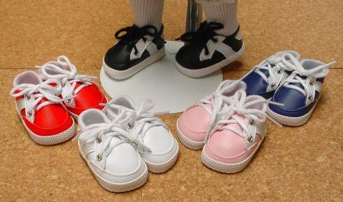 "Doll Shoes 65mm Black Custom Sporty Shoes for 16/"" Sasha Unisex"