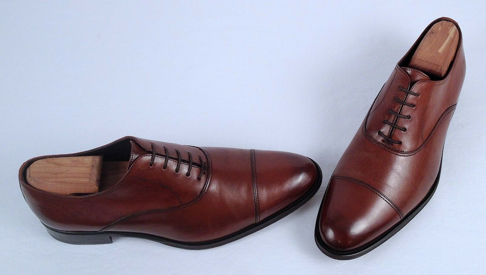 To Boot New York 'Brandon' Cap Toe Oxford- Cognac-Size 9 W- $375