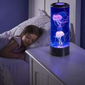 Medusa-Acquario-Lampada-Cambiacolore-LED-Luce-Notturna-Decorazione-Regalo-Bel