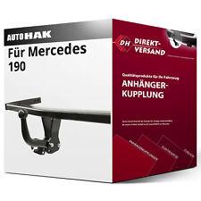 ANHÄNGERKUPPLUNG starr Mercedes 190 10.1982-09.1988 ELEKTROSATZ Neu